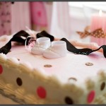 Modern Baby Shower Decoration Cake
