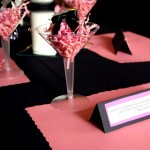 Pink and Black Decoration Ideas