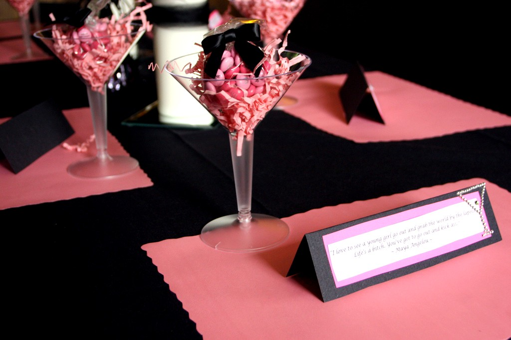 Pink And Black Balloons Sophisticated Decoration Ideas