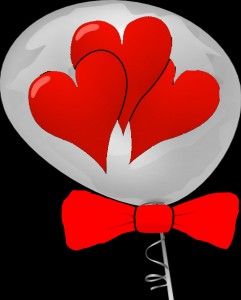 Wedding or Valentine Balloon Decoration