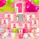 Girl's First Birthday Decorations
