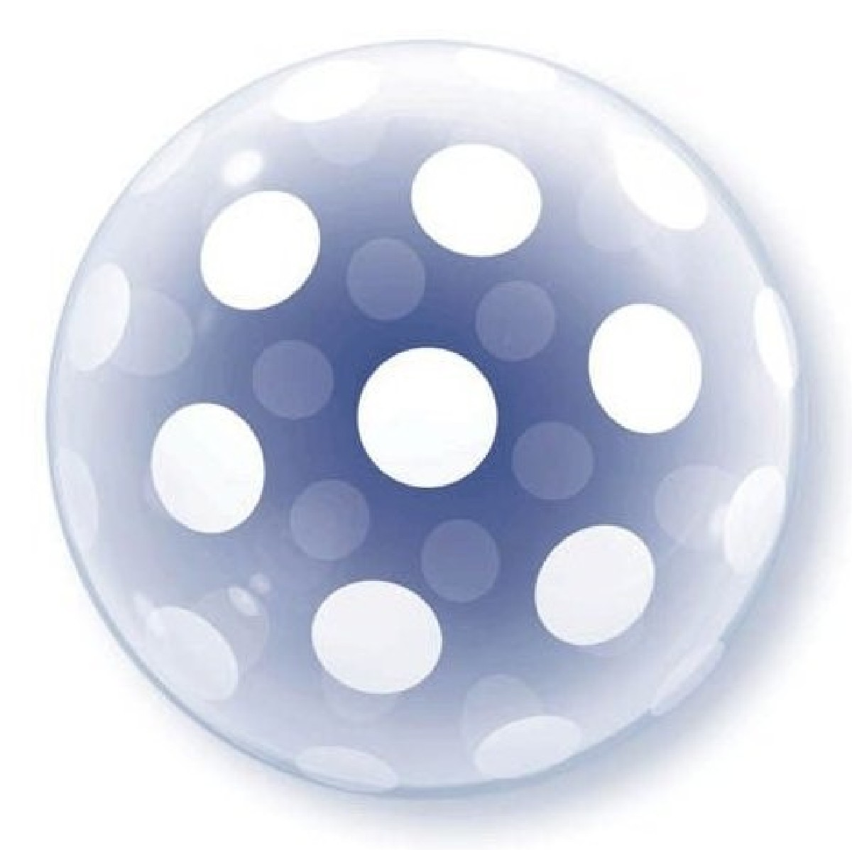 Polka Dot Deco Bubble Balloon