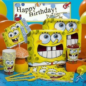 Sponge Bob Party Ideas