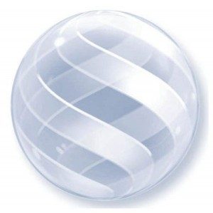 Swirl Deco Bubble Balloon