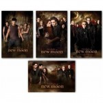 New Moon Poster Set