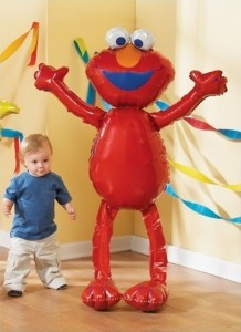Giant Sesame Street Elmo Party Balloon