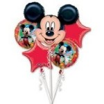 Mickey Mouse Birthday Balloons
