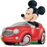 Mickey Mouse Car Balloon