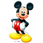 Mickey Mouse Lifesize Cutout