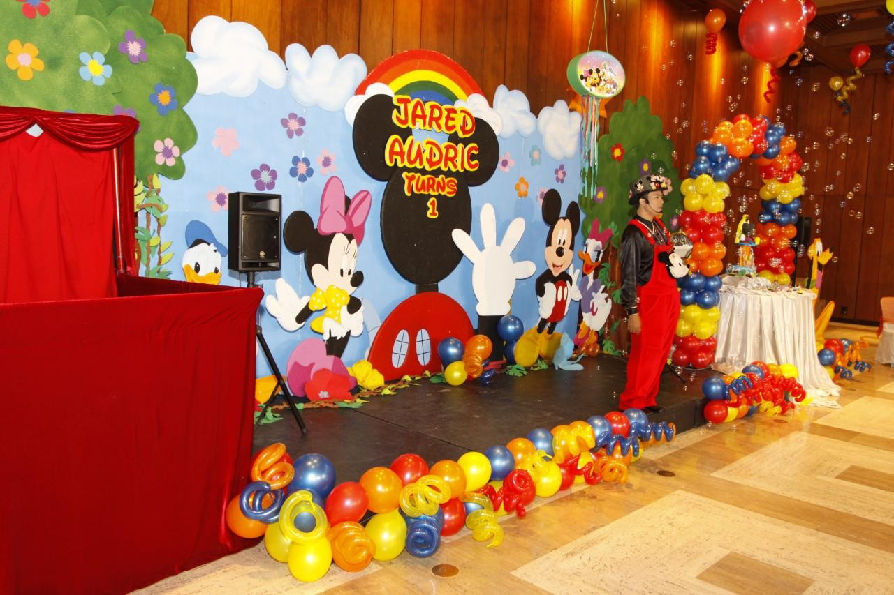 Mickey Mouse Party Decorations Balloon Decoration Ideas