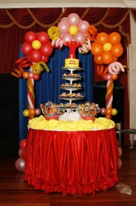 Sesame Street Birthday Party Balloon Arch