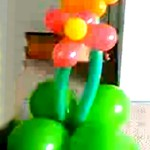 Balloon Decorations for Garden Theme Party