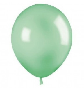 Pale Green Latex Balloons