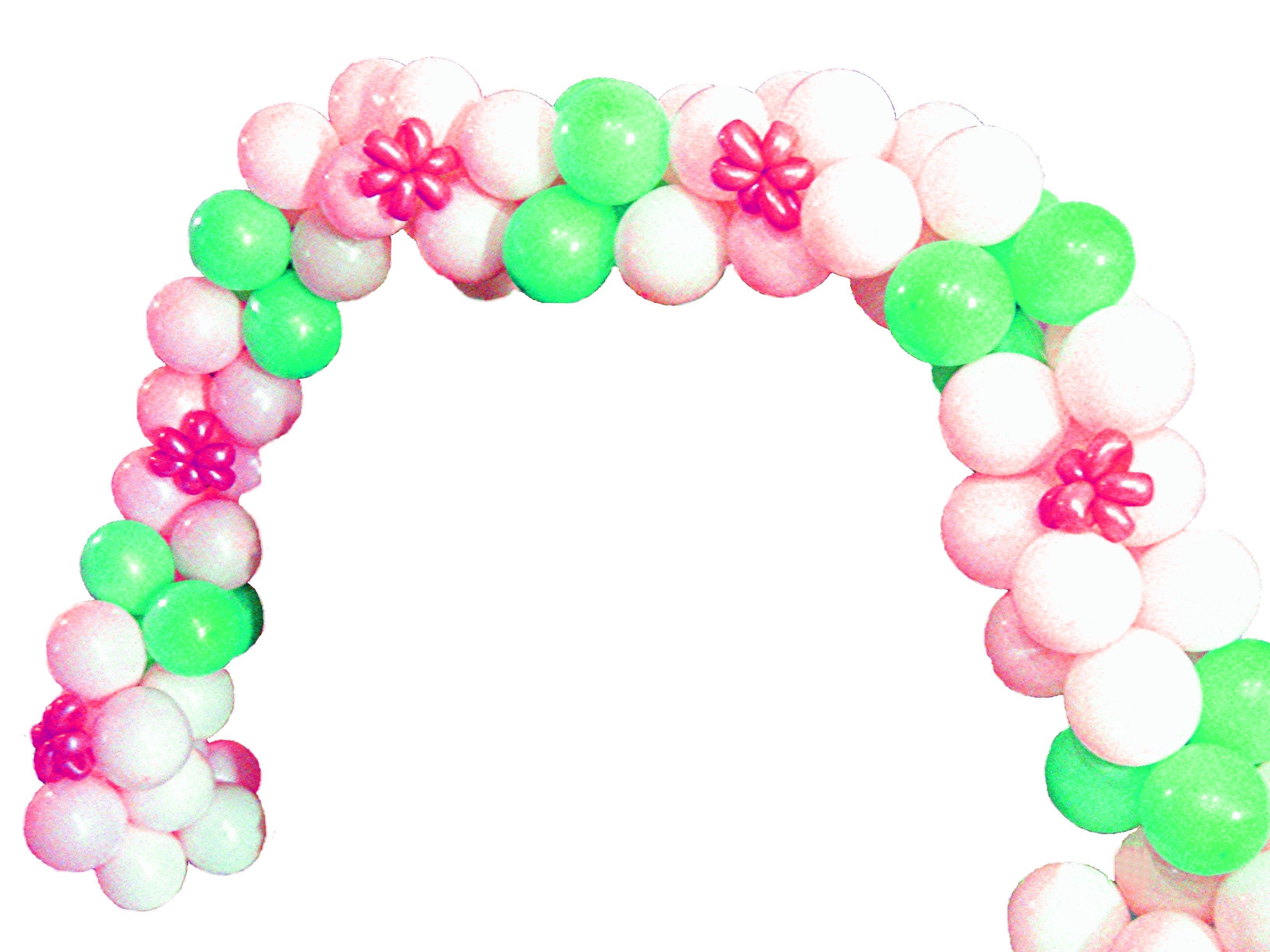 Balloon Arch Without Helium  Balloon Decoration Ideas