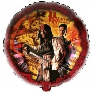 Pirates of the Caribbean Character Balloon