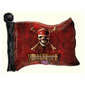 Pirates of the Caribbean Flag Balloon