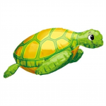 Sea Turtle 3D Mylar Balloon