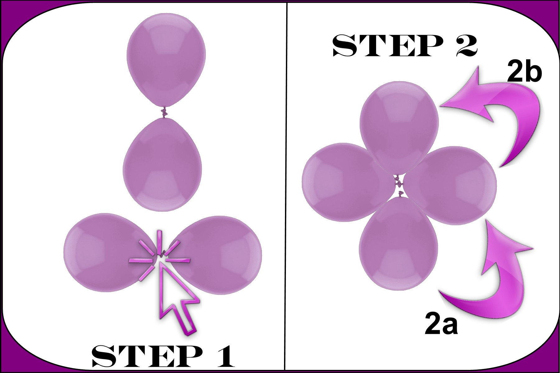 Balloon Cluster Instructions