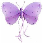 Purple Ribbon Butterfly