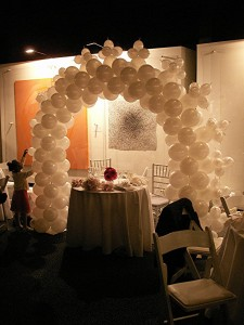 Romantic Balloon Arch