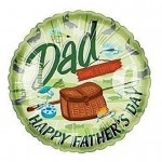 Fathers Day Balloon Mylar Fishing