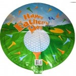 Fathers Day Balloon Mylar Golf Tee