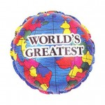 Fathers Day Balloon Worlds Greatest