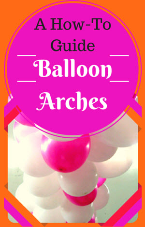 Balloon decoration ideas how to make balloon decorations for Balloon decoration instructions
