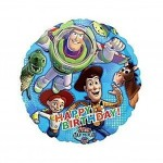 Toy Story Mylar Happy Birthday Balloon