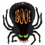 Black Mylar Spider Balloon