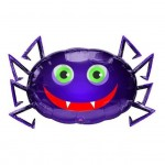 Blue Spider Balloon for Halloween